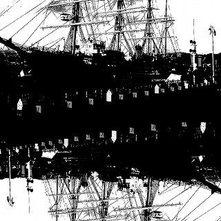塩澤清志「境界」1620×1620mm 岩絵具・アクリル・ニス 2014 (S)